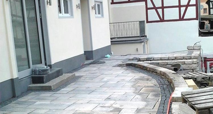 Pflasterarbeiten Wege und Treppen