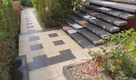 Wege und Treppenbau